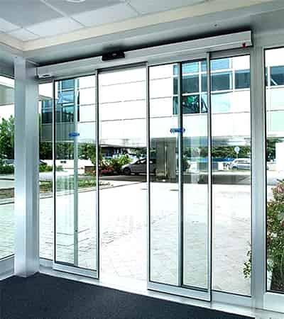 faac-sliding-automatic-glass-door