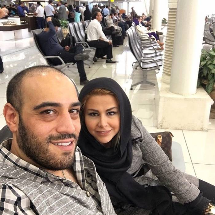 امیریل-ارجمند-و-همسرش