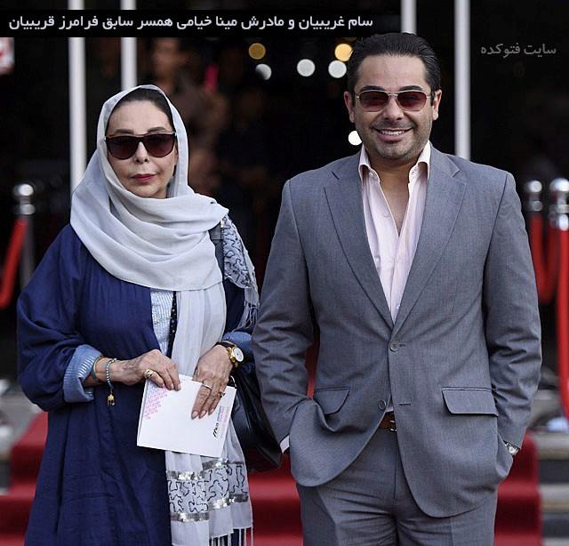 بیوگرافی فرامرز قریبیان و همسرش