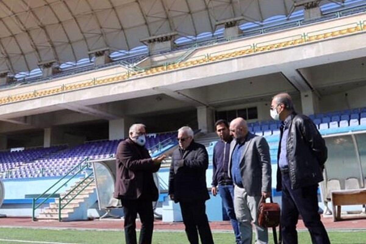 فتح اللهزاده از تیمهای پایه استقلال بازدید کرد
