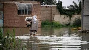 وضعیت بحرانی در اهواز در پی بارش باران + فیلم