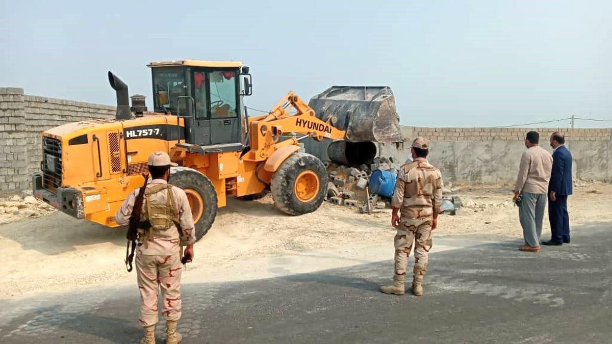 120 مترمربع اراضی ملی در روستای گوری رفع تصرف شد