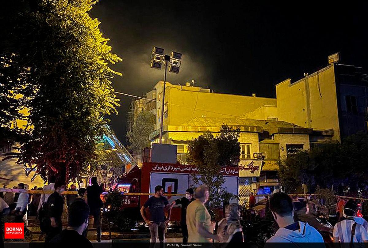 علت انفجار مرگبار در کلینیک شمال تهران مشخص شد