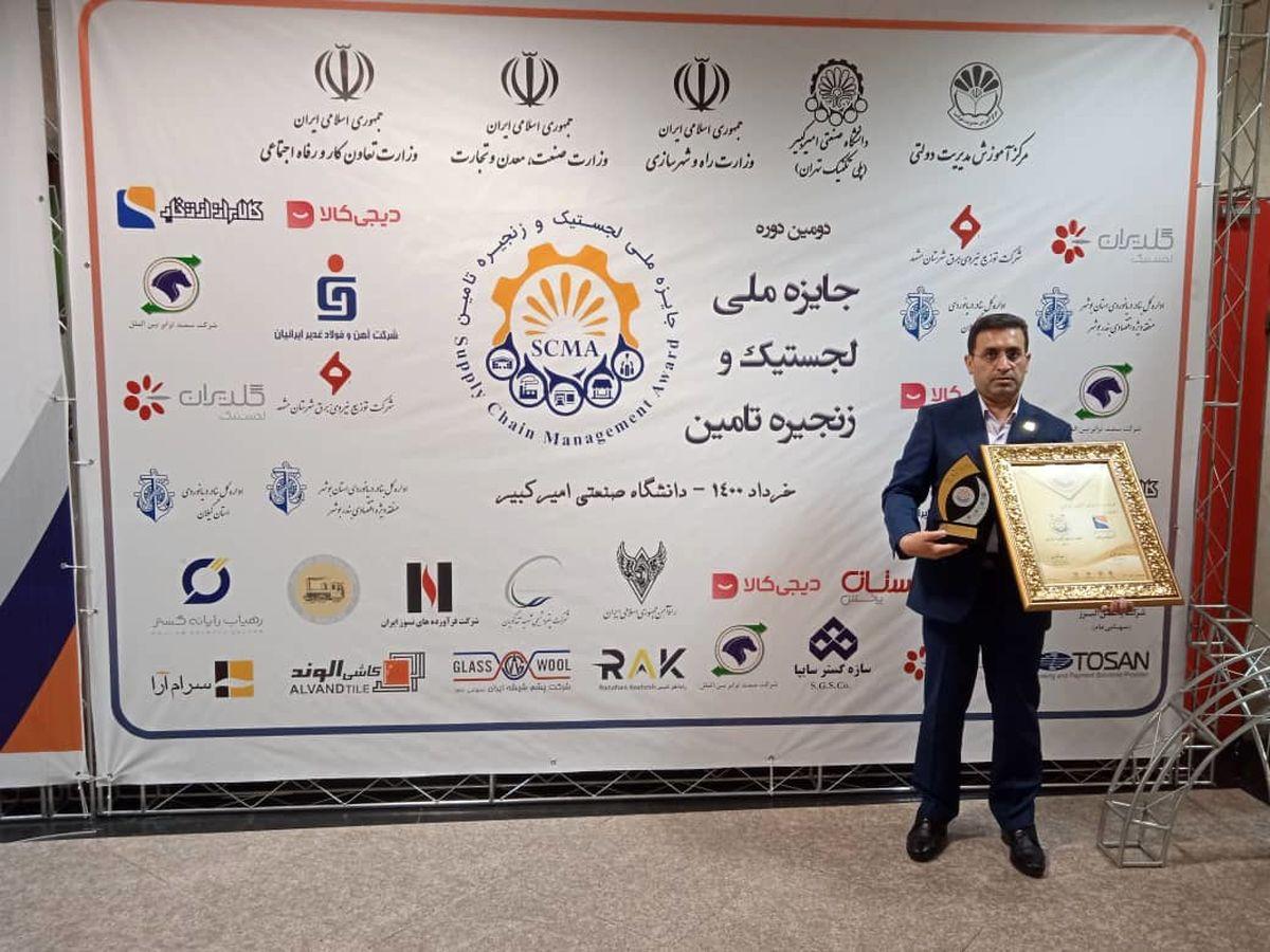 کسب جایزه ملی لجستیک و زنجیره تامین توسط گروه صنعتی انتخاب الکترونیک