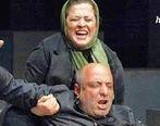 عکس جنجالی مهراوه شریفی نیا در آغوش امیر جعفری + تصاویر