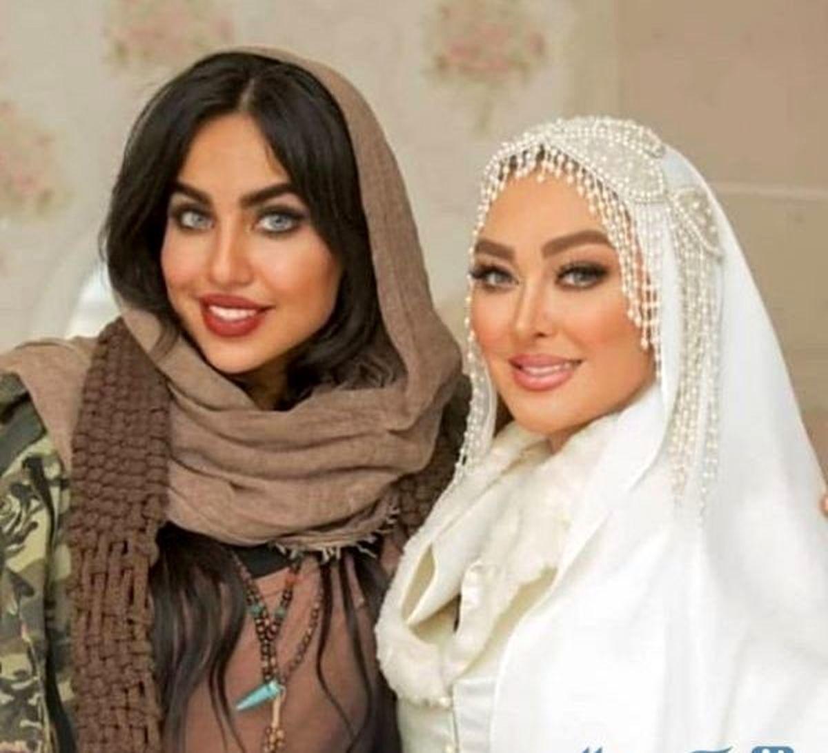 الهام حمیدی|جنجال ماجرای ازدواج دوم  + تصاویر مراسم ازدواج