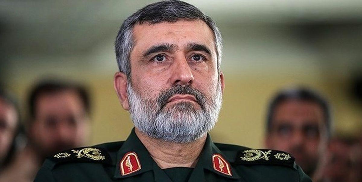 ترور نافرجام سردار حاجیزاده فرمانده هوا فضای سپاه در سوریه