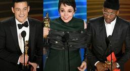 برندگان اسکار بازیگری جایزه میدهند