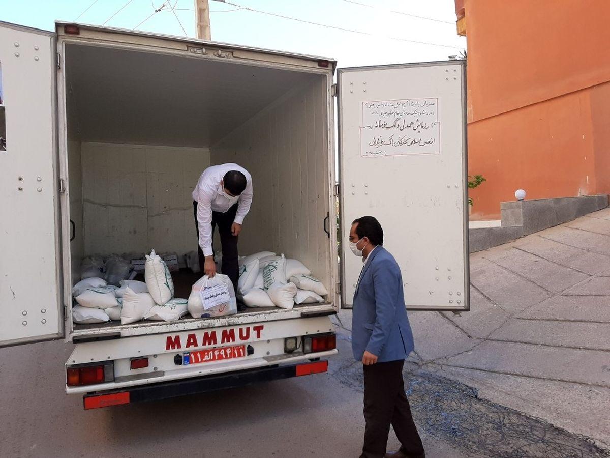 همدلی کارکنان بانک ملی ایران با نیازمندان در ماه مبارک رمضان