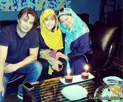 بهاره رهنما و همسرش در جشن تولد دخترشان