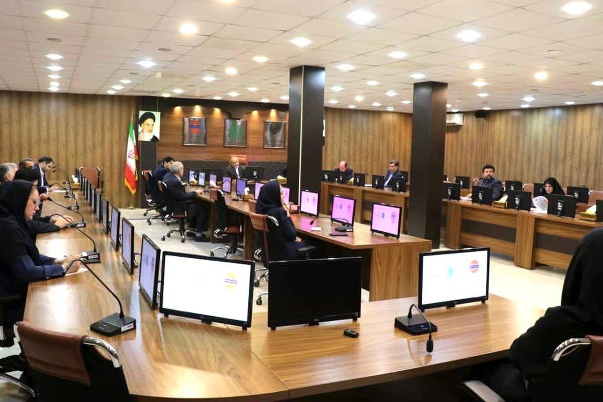 ششمین نشست شورای هماهنگی اقدامات پسا کرونا منطقه آزاد قشم برگزار شد