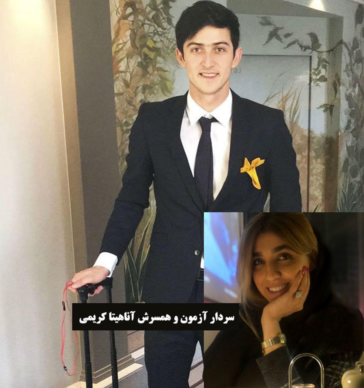 ابراز علاقه عاشقانه یک دختر به سردار آزمون در ملاعام + فیلم