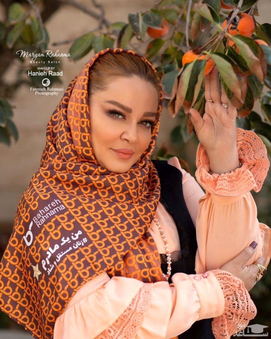 پشت پرده عکس پرحاشیه بهاره رهنما در مراسم ختم محسن قاضی مرادی