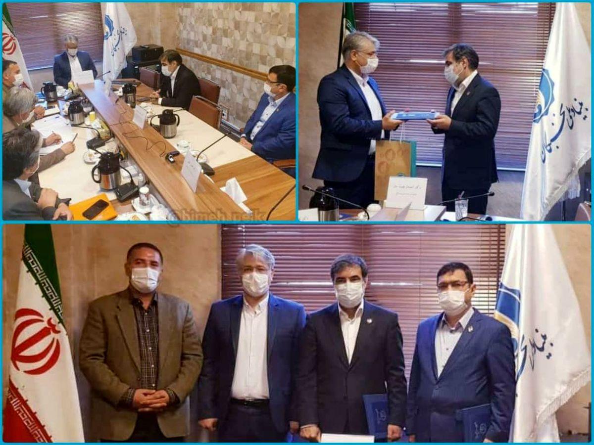قدردانی بنیاد ملی نخبگان از مدیرعامل بیمه ایران