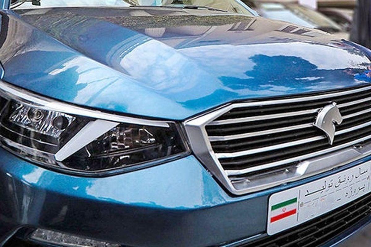 آغاز تولیدآزمایشی نخستین خودرو ایرانی دربهمن ماه99