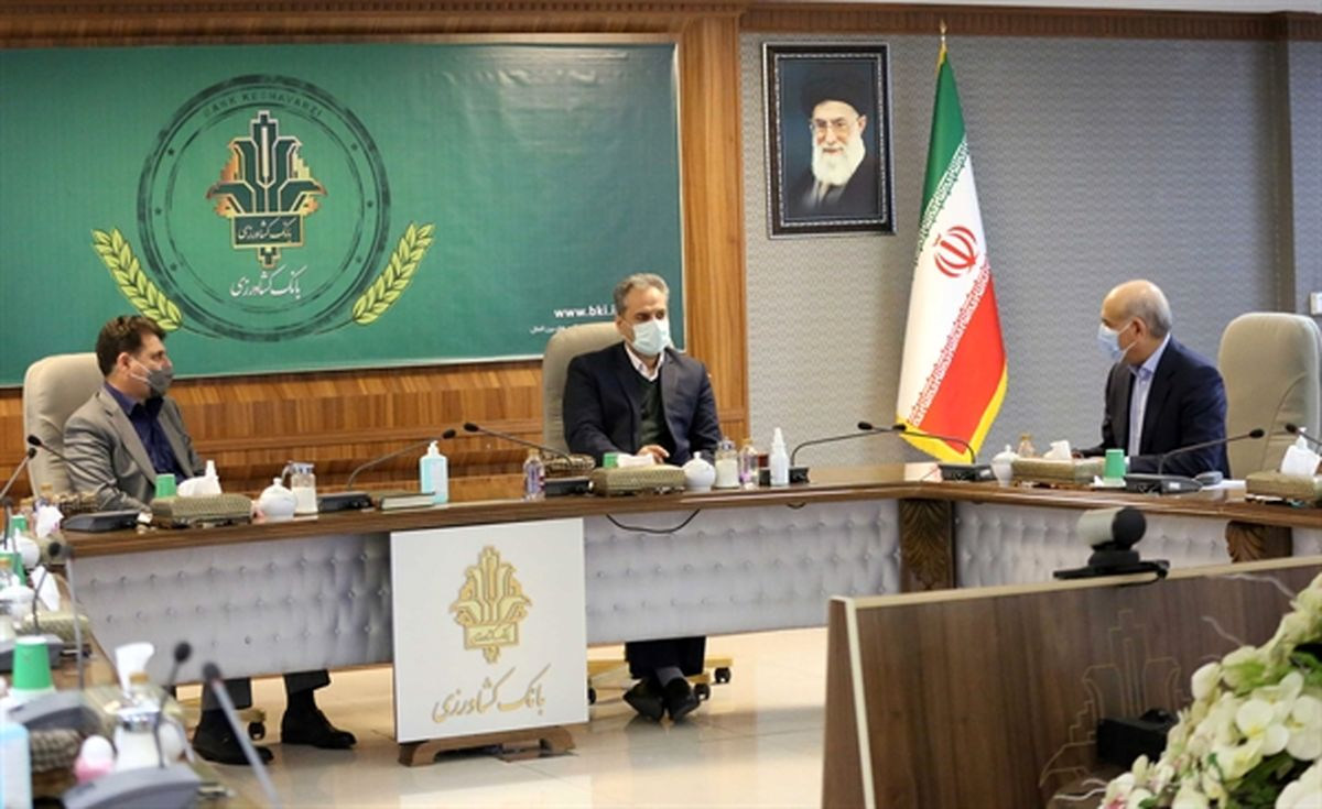 جلسه مشترک وزیر جهاد کشاورزی ، استاندار کرمان و هیأت مدیره بانک کشاورزی