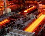 رشد تولید فولاد ایران به ۶ درصد رسید