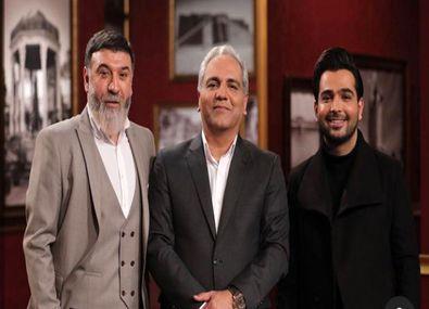 علی انصاریان، جنجالی ترین مهمان دورهمی + فیلم