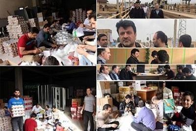 بازدید رئیس هیات مدیره بانک قرض الحسنه مهر ایران از مناطق سیل زده شهرستان پلدختر