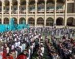 امدادرسانی به ۳۷۰۰ نفر در نماز عید فطر