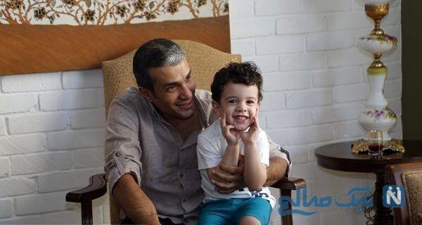 آریا عظیمی نژاد و پسرش | تصویری از نوازندگی داور عصر جدید و پسرش