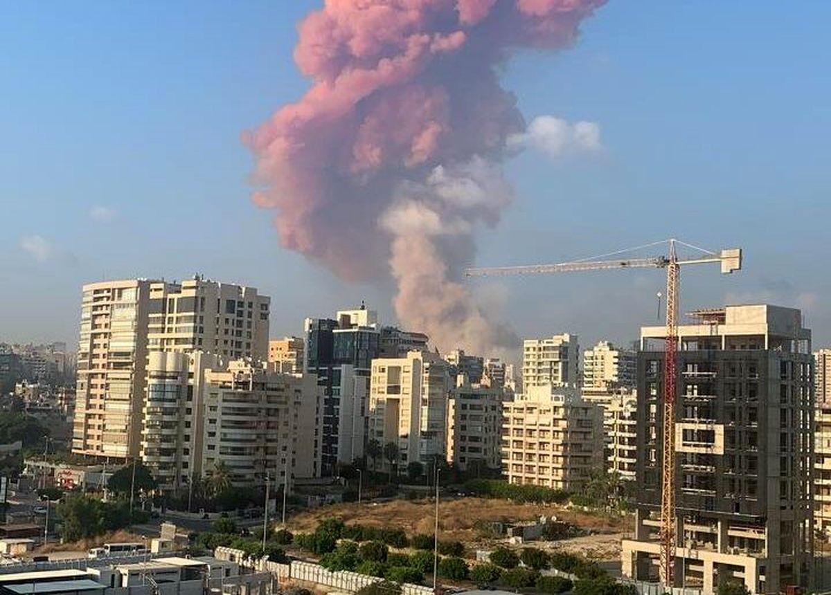 جزئیات انفجار مهیب در بیروت + فیلم و عکس