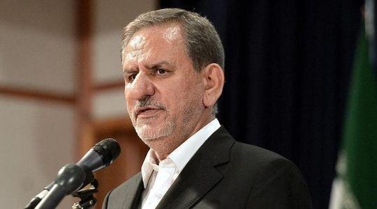 جهانگیری: اروپاییها، آمریکا را به لغو تحریمها علیه ملت ایران وادار کنند