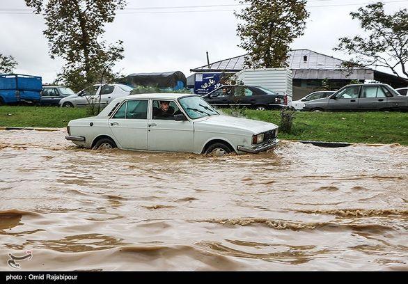 هشدار هواشناسی درباره آبگرفتگی در ۲۱ استان طی امروز و فردا