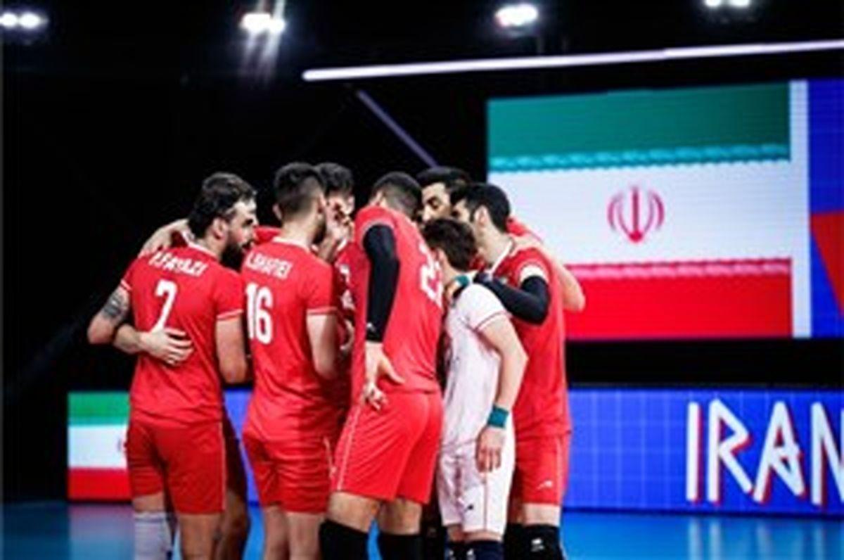 ترکیب تیم ملی والیبال ایران مقابل آمریکا + ساعت بازی
