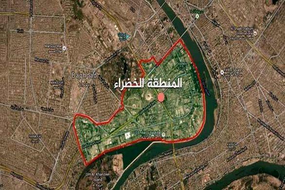 اصابت یک موشک به منطقه سبز بغداد + جزئیات