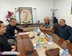 جلسه جالب مدیر عامل پرسپولیس با کالدرون + عکس