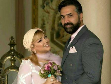 فیلم لو رفته از مراسم سالگرد ازدواج بهاره رهنما و همسر دومش + فیلم و  عکس