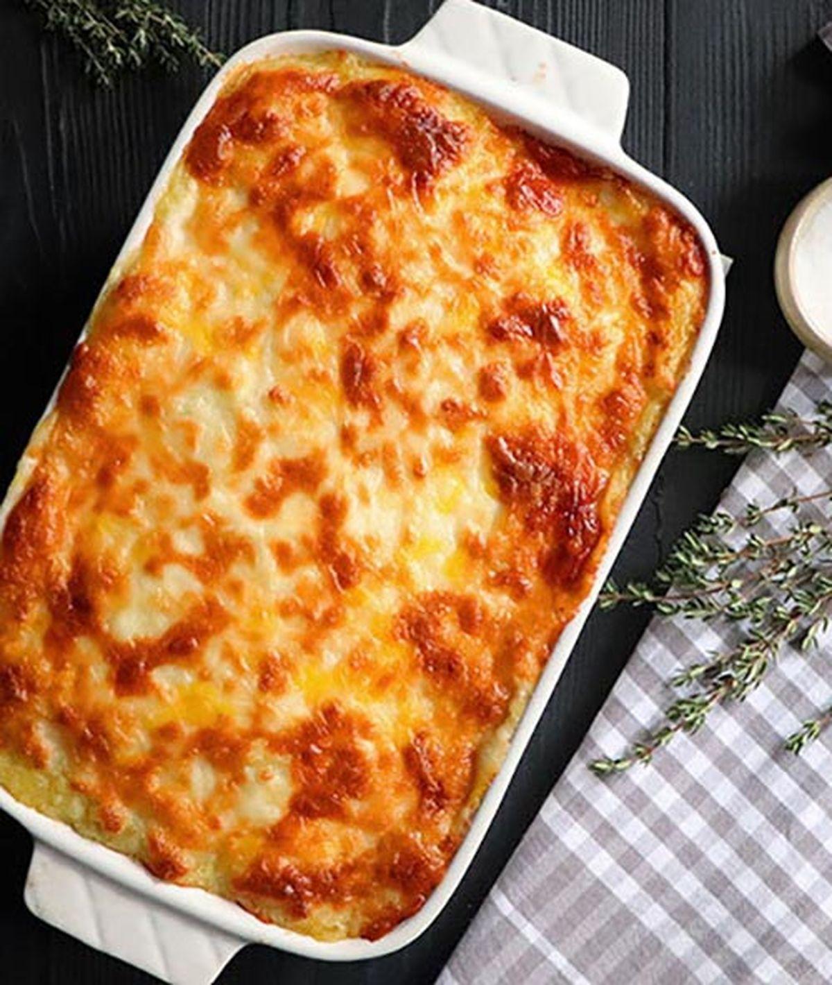 دستور تهیه کسرول مرغ و سیب زمینی غذای آسان و خوشمزه