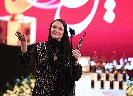 تشکر جالب گلاب ادینه از مهدی هاشمی در جشن حافظ