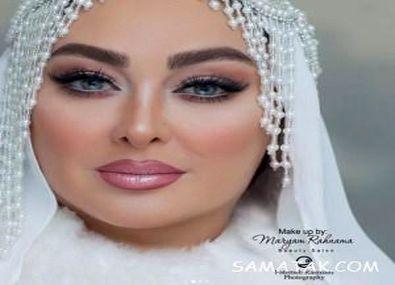 عکس های لو رفته الهام حمیدی در شب عروسی مجدد +تصاویر و جزئیات
