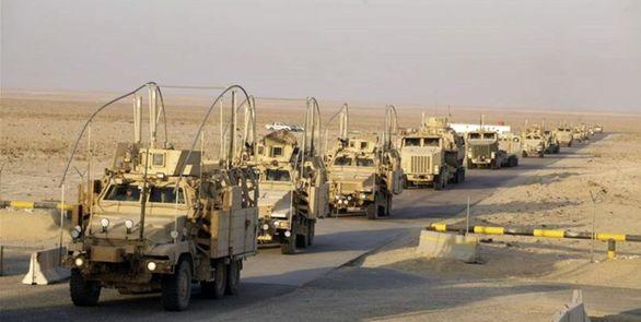 تکذیب خبر ورود ۵۰۰ خودروی نظامی آمریکا به عراق