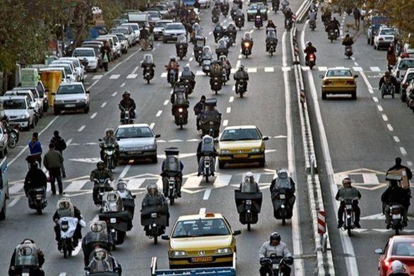 برنامه جدید  شهرداری تهران برای موتورسواران