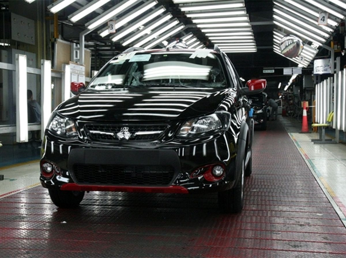 رشد ۸ درصدی تولید در پارس خودرو