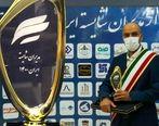 دریافت تندیس مدیر شایسته توسط سرپرست شرکت فولاد اکسین خوزستان