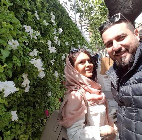 عکس جدید محسن کیایی و همسرش