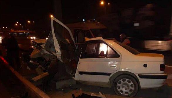 جزئیات حادثه رانندگی در اتوبان امام علی