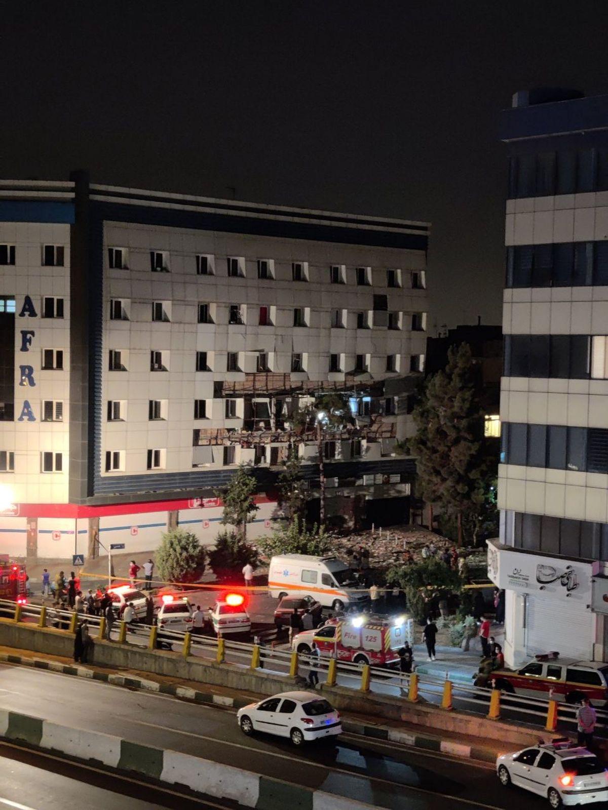 انفجار مهیب در غرب تهران/ شهران به شدت لرزید + عکس