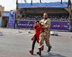 فیلم تازه منتشر شده از حمله تروریستی به رژه نیروهای مسلح در اهواز + فیلم+18