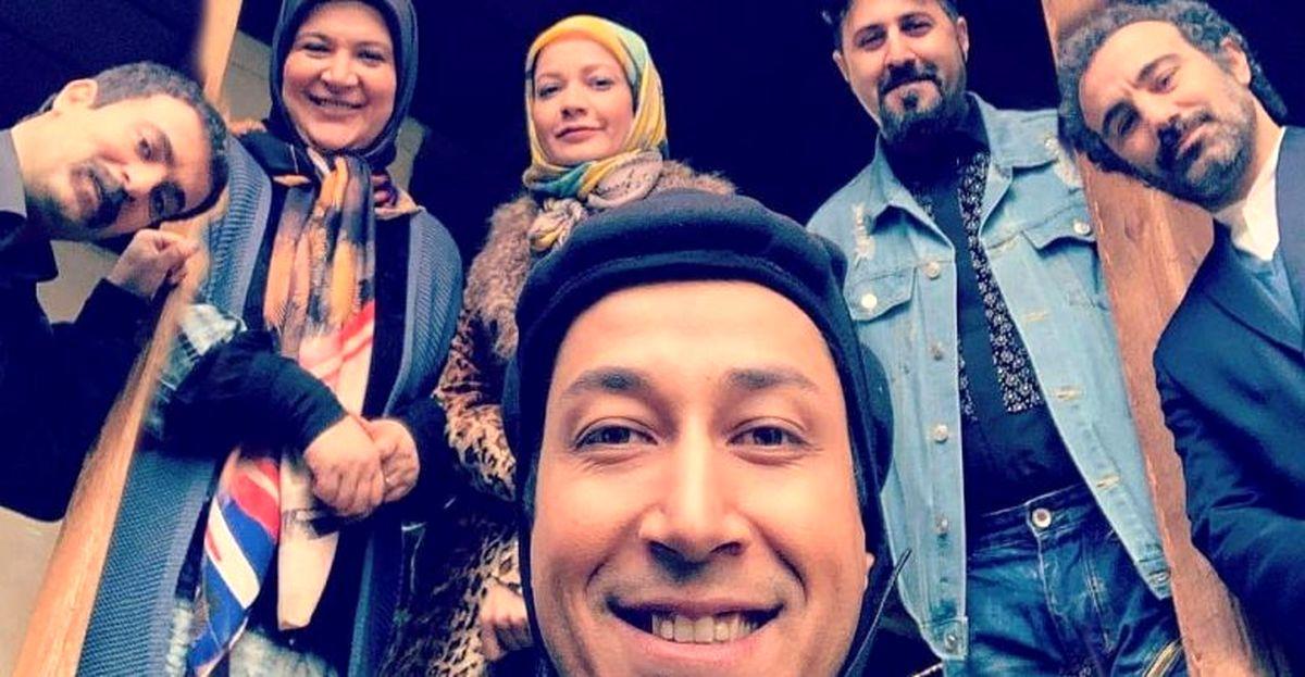 بوسه جنجالی بهروز بر گونه هما در پایتخت ۶ سانسور شد +عکس