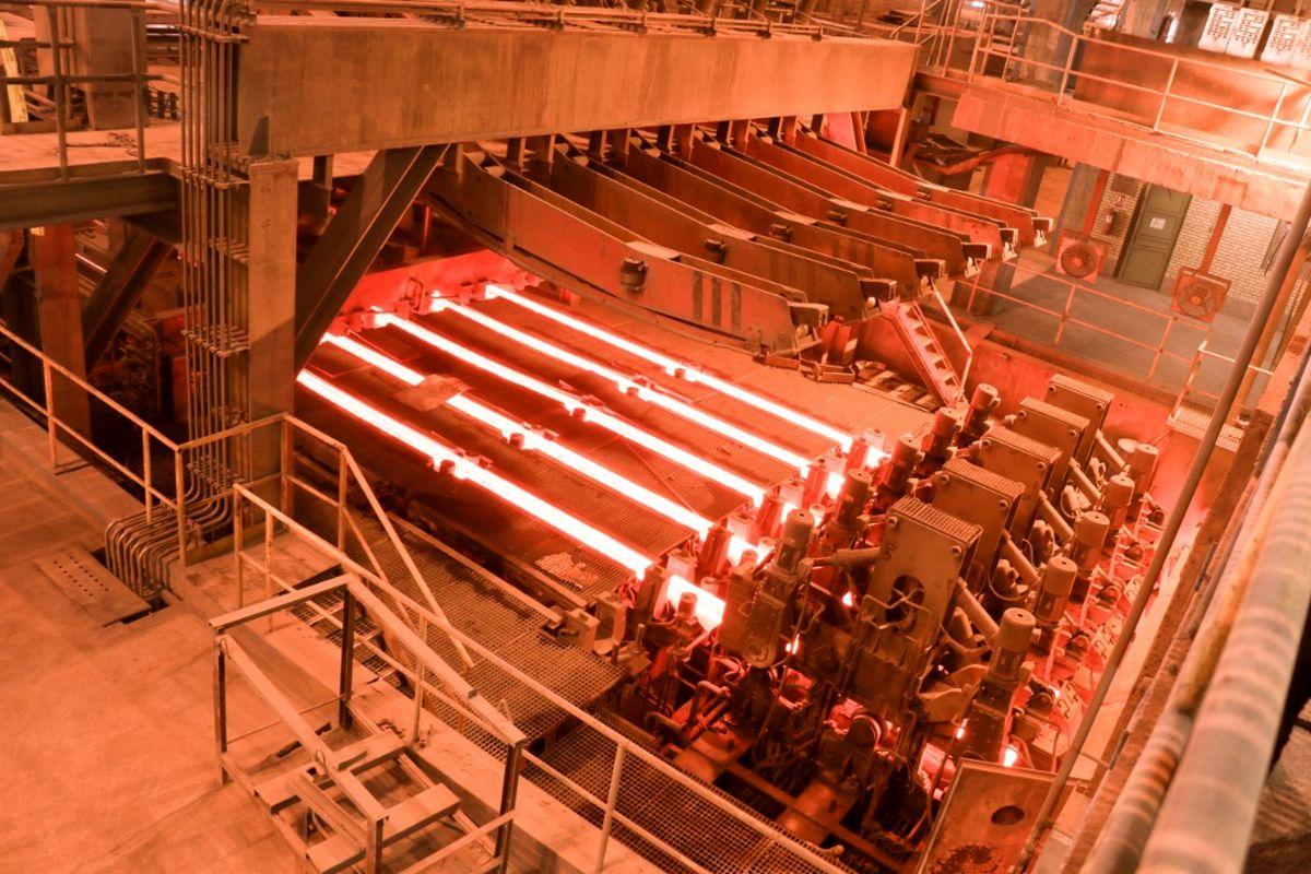 ثبت رکورد جدید تولید در فولادسازی مجتمع  فولاد خراسان