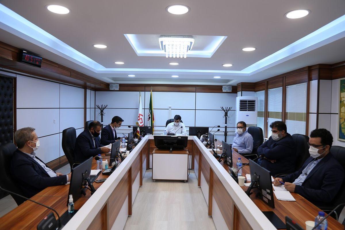 جلسه بررسی گزارش حسابرس داخلی صندوق قرض الحسنه شاهد برگزار شد