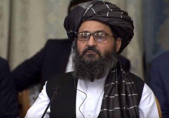 دیدار ملابرادر و اعضای دفتر سیاسی طالبان با ظریف