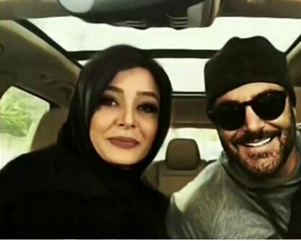 عکس های لو رفته از محمدرضا گلزار و ساره بیات در کنار هم و خبر ازدواجشان + فیلم و تصاویر