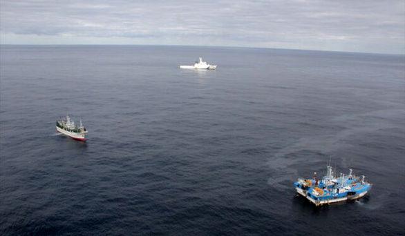 برخورد ۲ کشتی در آبهای ژاپن + جزئیات