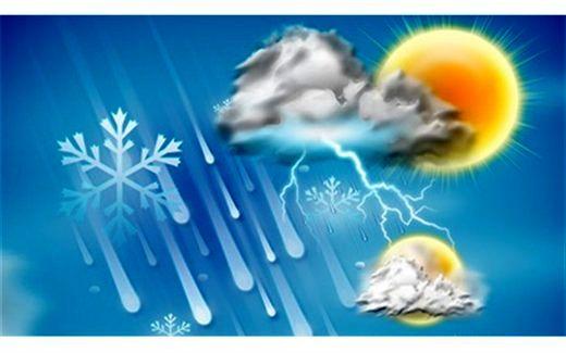 آخرین پیش بینی وضعیت آب و هوا پنجشنبه 3 بهمن + جدول